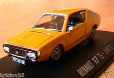 RENAULT 17 TS SPORT RACE JAUNE 1971 NOREV 1/43 YELLOW R17 M6 INTERACTIONS GELB