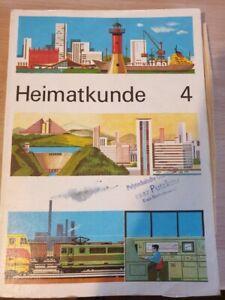 Schulbuch aus der DDR , Heimatkunde 4 , Verlag Volk und Wissen