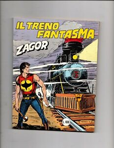 ZAGOR IL TRENO FANTASMA ITALIAN COMIC BOOK DIGEST FERRI GALLIENO ART