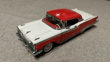 Ford Fairlane 500 Skyliner 1959 red/withe (Franklin mint) 1:43