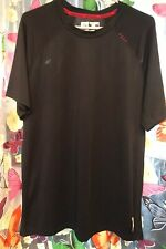 RBX PERFORMANCE BLACK & RED GYM/SPORTS TOP SIZE LG Approximate Uk 16-18
