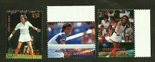 WOMEN TENNIS PLAYERS MINT MNH STAMPS PAM SHRIVER ANNE HOBBS EVONNE CAWLEY