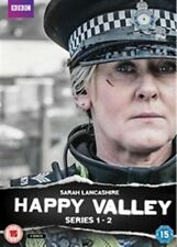 Happy Valley Season 1 + 2 Series One and Two First Second BBC New DVD
