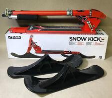Stiga Snow Kick Red Snow Scooter/Bike - New!