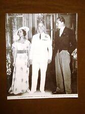 Il Maresciallo d'Italia Pietro Badoglio nel 1935 Matrimonio della figlia Maria