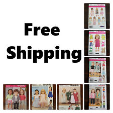 New! Simplicity Sewing Pattern for 18 Inches Doll Clothes and Accessories
