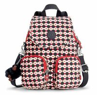 kipling Firefly Up Small Backpack Shape Mix