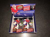 2015-16 Upper Deck Series 1 Hockey (3)- Sealed 8 Card Packs McDavid Rookie Year!