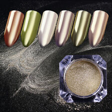 0.5g Gold Mirror Nails Glitter Powder Dust Manicure Nail Art Decoration Tips