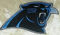 """Carolina Panthers 3.5"""" Iron On/Sew On Embroidered Patch~US Seller~FREE Ship!"""