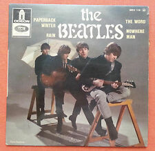 THE BEATLES-PAPERBACK WRITER RARE FRANCE 7'' PS 1966 EP