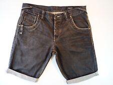 Jack & Jones Jeans 38W Jack and Jones Black / Grey Denim Shorts W38 Brilliant!!