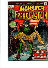 Monster of Frankenstein #2 - Ploog - Marvel - Horror - 1973 - Very Good