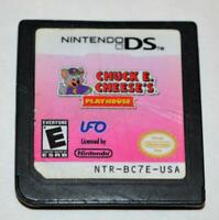 *CHUCK E. CHEESE'S PLAYHOUSE NINTENDO DS GAME 3DS 2DS LITE DSI XL
