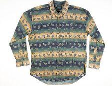 Vintage Chaps By Ralph Lauren multi-colored dress shirt