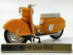 1/24 Atlas WFM Osa M52 Orange Motorcycle Model