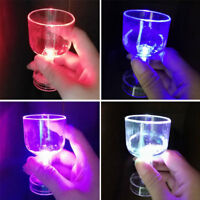 Colorful Luminous LED Wine Cup Beer Glass Mug For Bar Club Wedding Party Supply