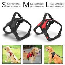 Non-Pull Dog Harness Adjustable Pet Puppy Walking Strap Vest Soft Chest Belt UK