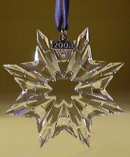 SWAROVSKI CHRISTMAS STAR 2003 ANNUAL EDITION 622498 stella di natale 2003 nuova