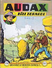 AUDAX Bill Tornade n° 36 . Artima octobre 1955 ..