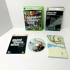 Grand Theft Auto Iv Microsoft Xbox 360 Video Game Complete With Manual and Map