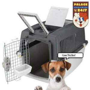 Trixie Gulliver Dog Transport Carrier Crate Cage For Pet Travel Plastic Material