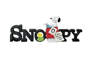 RE-MENT Miniature SNOOPY COLLECTION of WORDS 2 my fav!  rement No.01