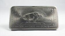 10 oz Ten Troy Ounces American Buffalo .999 Pure Titanium Bullion Bar Ti Element