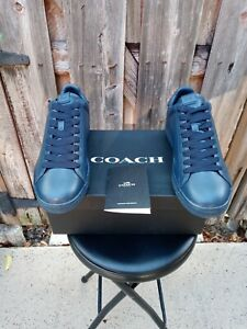 Coach Men's Oceania Low Top Sneakers - G1512 Size 9