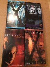 X Files - Lot Of 4 VHS Videos Fallen Angels Green Men / Tunguska / Lenard Betts