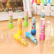 Lovely Kid Child School Students Pen Shape Eraser Rubber Stationery Gift Toys