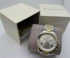 Michael Kors MK5627 Bradshaw Chronograph Silver & Gold Tone Ladies Wrist Watch