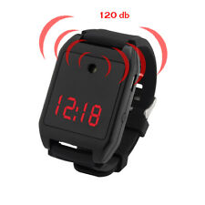 Safety Sound Personal Alarm Watch, Rechargable Safe 120 db Emergency for womans