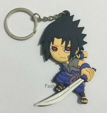 Naruto Sasuke Keychain Double Sided 2.5 Inches Anime US Seller