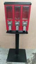 Route Master Gumball Candy Nut 3 Bin Vending Machine