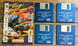 Street Fighter 2 - Amiga - Rare Retro Big Box Game - Capcom - US Gold