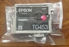 ORIGINAL EPSON T0453 MAGENTA INK CARTRIDGE NEW SEALED