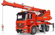 Bruder Toys MB Arocs Crane Truck w/ Light & Sound Module 03670 Mercedes Benz