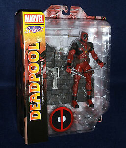 "Marvel Select DEADPOOL 7"" Action Figure Diamond Select Toys DST X-Force X-Men"