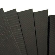 PLANCHA DE FIBRA DE CARBONO 2,5mm TWILL 2/2 500x400mm matte