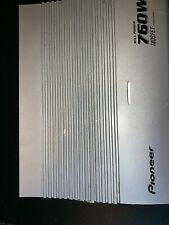 Pioneer Max Power 760 W Mosfet Amplifier Gray GM- X962 Working