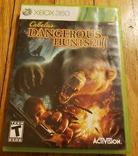 Cabela's Dangerous Hunts 2011 Microsoft Xbox 360