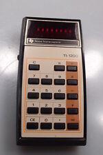 TEXAS INSTRUMENTS TI-1200 VINTAGE CALCULATOR GOOD