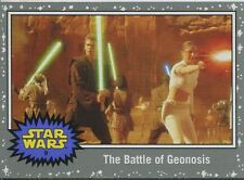 Star Wars JTTFA Silver Parallel Base Card #9 The Battle of Geonosis
