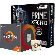 Amd AM4 ryzen 3 1200 Y Tarjeta Madre Asus Prime X370-PRO Paquete De Juegos