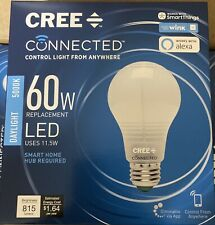 Cree Connected 60W Equivalent Daylight A19 Dimmable Led Omnidirectional