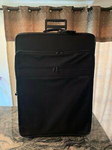 """BRIGGS & RILEY 28"""" Black Wheeled Rolling Large Garment Luggage U-28WG"""