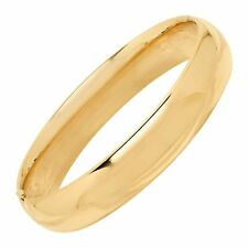 Eternity Ouro Polido Pulseira Bracelete Em Ouro 14K