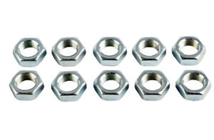 """1/4"""" UNF Right Hand Threaded Half Nuts, Ideal for Rose Joints - Pack of 10"""