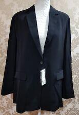 New ladies Uniqlo drape long jacket XL